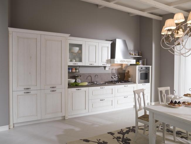 Cucina classica contemporanea con ante in legno consegne - Cucina classica contemporanea ...